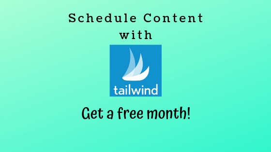 Use tailwind app for social media content get a free month